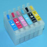 Tintenpatronen Nachfüllbare Patrone für Stylus R270 T50 P50 1400 1410 1500W 1390 T60 RX560 RX585 RX685 RX560PX650