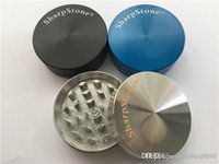 Zicn سبيكة معدنية الصلب أعلى 2 قطعة حادة حجر طاحونة للتبغ التدخين جاف عشب المطاحن شاربستون 50 ملليمتر طاحونة العشبية