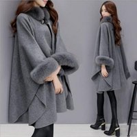 Women's Wool & Blends Temperament Plus Size Woolen Coat Down Female Autumn And Winter Mid-length Thickened Western Style Rex Collar