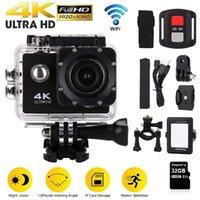 "Original 4K Ultra HD 30FPS Mini Action Camera WiFi 2.0"" Screen 170D Underwater Waterproof Cam Helmet Vedio Go Sport Pro Came"