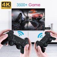 ضفدع البيانات الرجعية 4K HD عرض التلفزيون جهاز الإسقاط شاشة لاسلكية الكلاسيكية 3000 ألعاب مزدوجة تحكم لاعب تحكم الفرح لعبة عصا التحكم