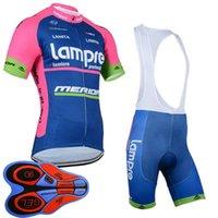 Nieuwe LamPre Team Mannen Ademend Fietsen Jersey Set Topkwaliteit MTB Bike Kleding Korte Mouw Road Fietskleding Fietsen Suits S21032616