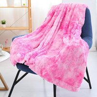 Blankets Luxury Artificial Fur Blanket Soft And Fluffy Sofa Living Room Plush Hug Lightweight For Fall winter Spring