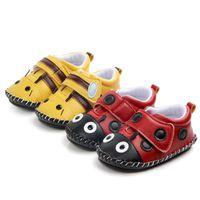First Walkers Kids Baby Animal Bee Shoes Rubber Soles Non-slip Walking Prewalker Walk