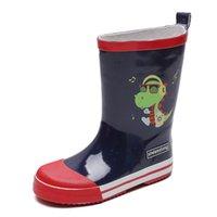 Ulknn Детские дождевые мальчики осень детские дождь ботинки нескользящие девочки дождь обувь большая детская обувная обувь водонепроницаемый студент обувь 210326