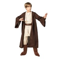 Theme Costume Boys Jedi Warrior Movie Character Cosplay Party Clothing Kids Child Fancy Halloween Purim Carnival Costume