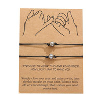 Charm Bracelets 2pcs set Lucky Beads Star Heart Bracelet Wristband Red String Wish For Women Children Gift Pulseras Jewelry