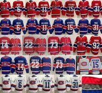 Ters Retro Montreal Canadiens Jersey 22 Cole Caufield Tyler 73 Toffoli 14 Nick Suzuki Jesperi Kotkaniemi Brendan Gallagher Carey Fiyat Shea Weber Hokey Mavi