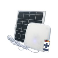Edison2011 Dusk à Dawn 60w 5000lm Lampes solaires à l'extérieur Plafonnier à écran LED intérieure avec distante