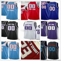 Jerseys de baloncesto impresos personalizados 24 Buddy 40 Harrison Hird Barnes Nemanja 8 Bjelica 35 Marvin 5 DeAaron Bagley Fox 0 Tyrese Hassan 20 Haliburton Whiteside Jersey