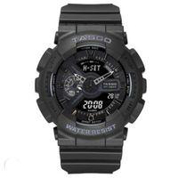 مؤشرات صغيرة العمل العلامة التجارية الكلاسيكية الرياضة ساعة اليد الرقمية، reloj hombre الجيش العسكرية كرونوغراف ساعة relogio masculino