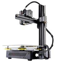 Stampanti KP3S Stampante 3D Stampa di alta precisione Stampa Aggiornato Kit DIY TOCKES SCREDER ESTRUDER DUAL GUIDA GUIDA LINEARE