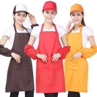 11 colori Adulto Grembiuli Adulti Pocket Craft Cooking Cooking Art Painting Adult Kitchen Dining Bib Grembiurs Grembiurs 330 V2