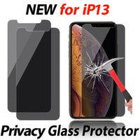 Privacy Anti-peeping anti-spy 2.5D Tempered Glass Screen Protector For iphone 13 12 mini 11 Pro max XR XS 6 7 8 Plus in opp bag 9H Anti-Scratch