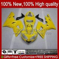Cowling-Kit für Triumph Daytona600 Daytona 600 650 CC 02-05 Karossergebnisse 104HC.220 Yellow Stock Daytona600 02 03 04 05 Body Daytona 650 2002 2003 2004 2005 ABS Full Fouring