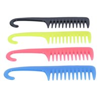 Hair Brushes 1PC Anti-Static Comb Hairdressing With Hanger Shower Detangles Large Wide Tooth Professional Salon Make Up