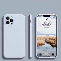 Custodie per cellulari Ultra Slim Candy Colors Soft TPU Cover per iPhone 12 11 Pro Max