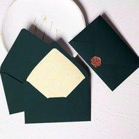 Gift Wrap 10pcs lot Beautiful Classic Retro Multicolor Bronzing Pearl Paper Envelope For Wedding Invitation