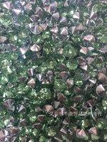 1000 1 / 3ct 4.5mm Teal Blue Diamond Confetti De Mariage De Mariage Favor Sattern Décoration 488 S2