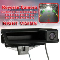 Car Rear View Cameras& Parking Sensors Auto Camera Reverse HD CCD For X5 X1 X6 E39 E46 E53 E82 E88 E84 E90 E91 E92 E93 E60 E61 E70 E71 E
