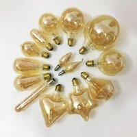 Ampuller E14 E27 Retro LED Spiral Filament Ampul 4 W Sıcak Sarı 220 V C35 A60 T45 ST64 T185 T225 G80 G95 G125 Vintage Edison Lambası