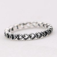 Cluster Rings Compatible With European Jewelry Linked Love Silver 100% 925 Sterling DIY Wholesale