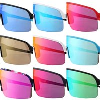 Yaz Erkekler Polarize Spor Bisiklet Güneş Gözlüğü Açık Sürüş Bisiklet Rüzgar Geçirmez Sürme Gözlük Gözlük Sutt Liit 9463 ile 3 Çift Objektif