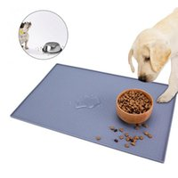 Cat Beds & Furniture Silicone Waterproof Pet Feeding Mat Dog Bowls Wear-resistant Water Holder Feed Eat Placemat Easy Washing