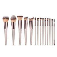 Makeup Brushes 4 5 9 10 14Pcs High Quality Brush Set Blush Eyeshadow Powder Foundation Blending Make Up Cosmetic Tool