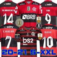 20 21 Flamengo Jersey 2020 2021 Flemish Diego de Arscaeta Ribeiro Soccer Jerseys Gabriel B. Henrique Sports Football Libertadores Gabi Patama