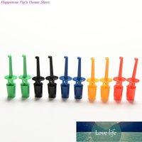 10 Stück Multimeter Blei Kabel Kit Testhaken Clip Elektronische Mini-Testsonde DIY Kit