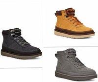 Botas de nieve 2021men zapatos de diseño SB Dunk Wool Frío A prueba de invierno Zapato cálido Nueva Moda Versátil Ned Lulu AF1 97 Cuero NMD TN Monedero de fondo grueso con caja Tamaño 39-44