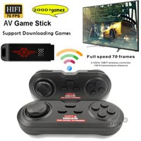 Oyunlar Kablosuz HD TV Desteği AR / SFC / FC / GG / GB 32bit Klasik Retro Hediye Taşınabilir Oyuncular oyunu