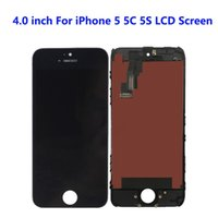 For iPhone 5C 5G 5S LCD Panels Used to repair phone display Multiple quality options Touch Digitizer Screen Assembly Replacement Black White