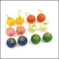 Festive Supplies Home & Garden12Pcs 3Cm Balls Baubles Party Xmas Tree Decorations Hanging Ornament Decor Foam Year Christmas Products1 Drop
