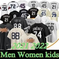 2021 Chicago Field of Dreams 88 Luis Robert Jersey 46 Craig Kimbrel 7 Tim Anderson Yoan Moncada 74 Eloy Jimenez 24 Yasmani Grandal Aaron Baseball Jerseys