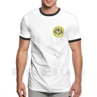 남성용 T 셔츠 클럽 아메리카 T 셔츠 DIY 큰 크기 100 % 코튼 아메리아 멕시코 시티 아즈텍 경기장 Miguel Herrera Las Águilas Liga MX 멕시코
