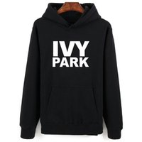 Women's Hoodies & Sweatshirts Beyonce IVY Park Fashion Theme Winter Men Set Sleeve Letters Sweatshirt Lady Black Casual Clothes