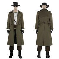 Resident Evil Village Karl Heisenberg Cosplay Costume Suit Halloween Outfits