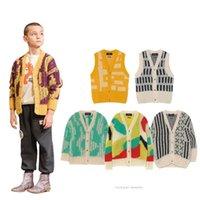 ENKELIBB 2020 Tao Fall Winter String Mantel Kinder Strickjacke für Jungen Mädchen Marke Design Kleinkind Casual Coats Winterkleidung 0930 180 Z2