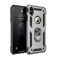 phone case Designer Armor cases Back Cover with Ring Holder Magnetic Car Kickstand hockproof High Protective TPU for Iphone 11 12 pro max X XS bags