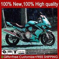 Körper für Suzuki Katana Cyan White New GSXF 650 GSXF650 GSX650F BodyWorks 18HC.126 GSX-650F 2009 2009 2010 2011 2012 2013 2014 GSX 650F GSXF-650 08 09 10 11 12 13 14 Verkleidung