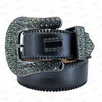 2021 Designer Belt Bb Simon Belts for Men Women Shiny diamond belt black