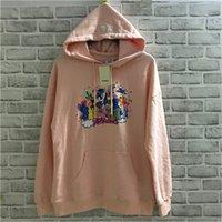 Erbeten Hoodie Herbst Winter Hip Hop Cartoon Vetements Sweatshirts Hohe Qualität Mode Stickerei Geschwätz Pullover C0325