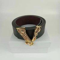 Top Designer cintura di lusso per uomo e donne in pelle in pelle V fibbia in vita cinture di moda di alta qualità cinture per la donna regalo