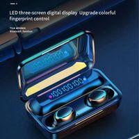 F9-10 TWS Wireless Bluetooth Earphones Headphones 2200mAh Charging Box With Microphone Sport Waterproof Headsets Earbuds