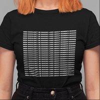 Pudo XSX إمرأة تي شيرت الرجال لا ينبغي أن تجعل قوانين حول الهيئات شعار قميص الإنسان حق المحملة النسائية