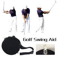 Обучение для гольфа СПИД, Gonkux Swing Trainer Ball с интеллектуальным надувным ассистентом коррекция осанки для гольфа Drop Hired BA