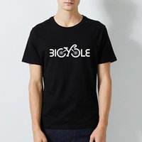 Мужские футболки Cycle Велосипед Мода Уникальные Классические Мужчины Круглый Воротник Короткими Рукав Тис дизайн Смешная футболка Летняя футболка Повседневная уличная одежда