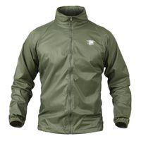 Erkek Ceketler Yushu İlkbahar Yaz Cilt Askeri Ceket Su Geçirmez Taktik Erkekler Ceket Ordu Giysileri Nefes Naylon Işık Rüzgarlık